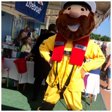 Stormy Stan at Berwick Harbour Day