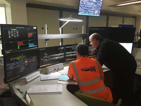 New workstation at Manchester Rail Operating Centre