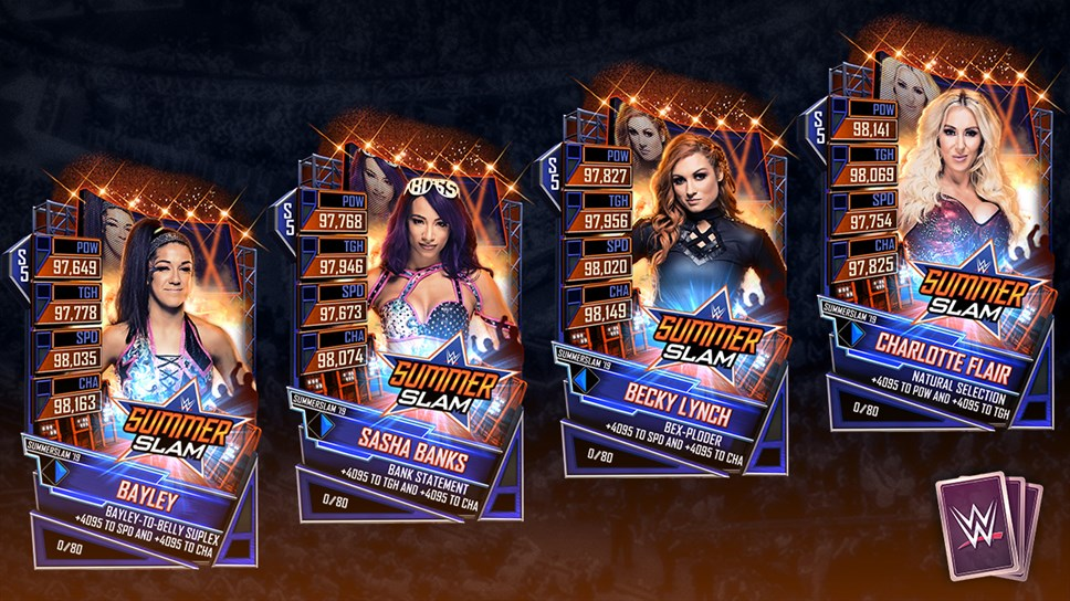 WWESC S5 SummerSlam Tier Art