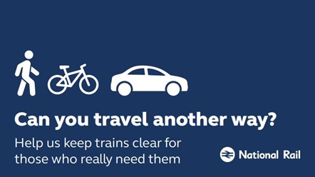 Rail industry in north issues 'essential travel only' bank holiday plea: Essential travel only