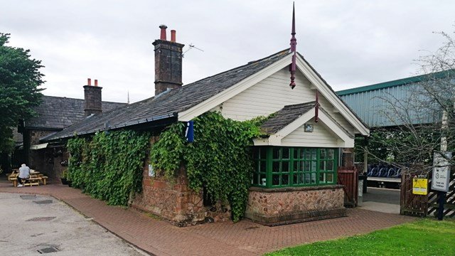 All under one roof: rail workers revive Cumbrian visitor attraction: Millom Heritage and Arts Centre building