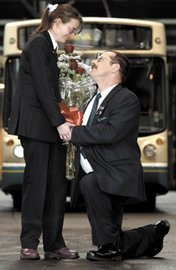 Love is in the air… and on the buses too!: Love is in the air… and on the buses too!