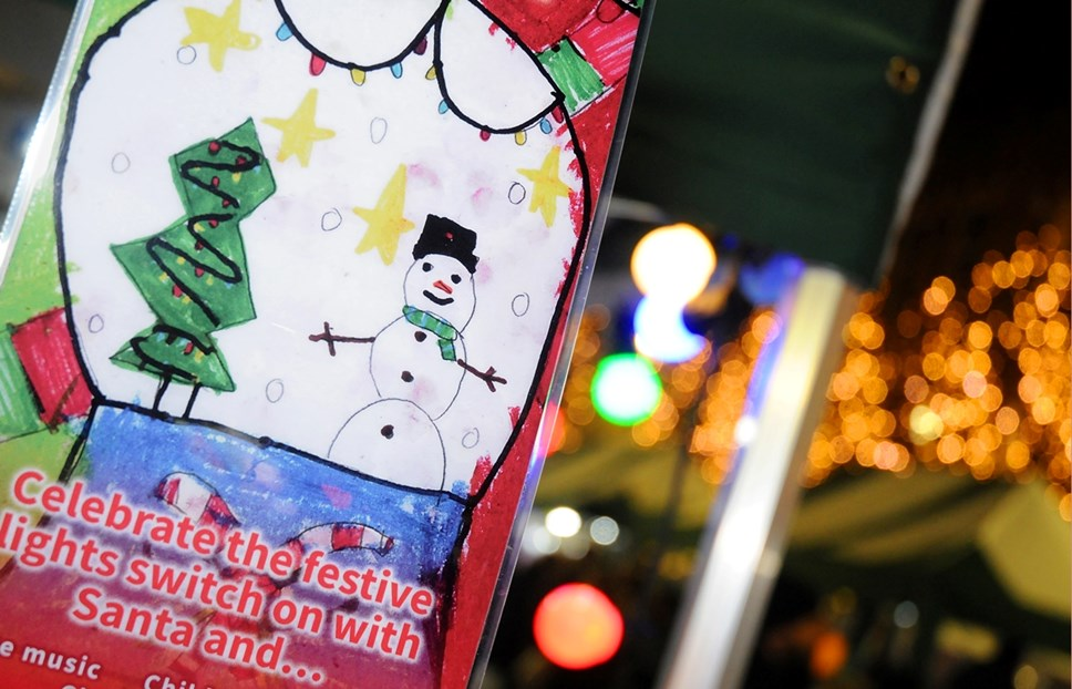Islington's Christmas light switch-ons promise to be 'Absolutely Fabulous': archway xmas 2