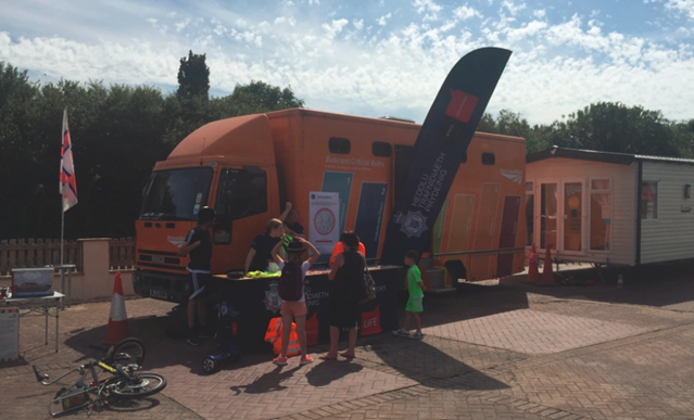 Network Rail promotes rail safety during summer roadshow along the North Wales coastline: Network Rail promotes rail safety during summer roadshow along the North Wales coastline