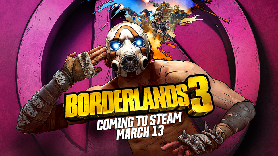 Borderlands® 3 Out Now on Steam, Featuring Innovative PC Cross-Play Functionality: BL3 Official Alternate Key Art