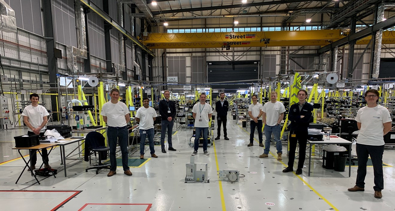 How Siemens apprentices and young engineers used talent and digital tools to make history: Siemens team at AMRC Broughton