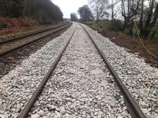 Somerleyton track renewal 5