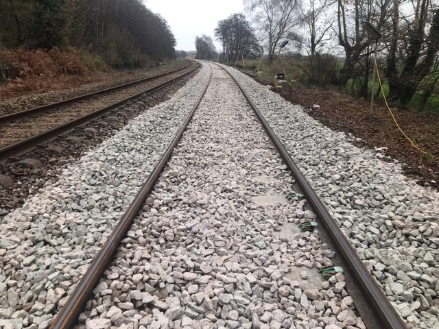 Somerleyton track renewal 5