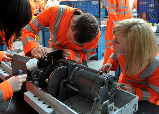 WOMEN IN MILTON KEYNES WHO WANT DEGREES URGED TO TAKE APPRENTICE ROUTE: Natalie Burton, Andy Fox, Vicki Fox