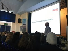 Moulsham High School assembly session