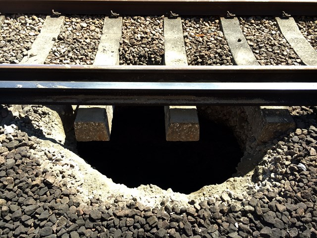Large hole discovered under Forest Hill railway tracks-2