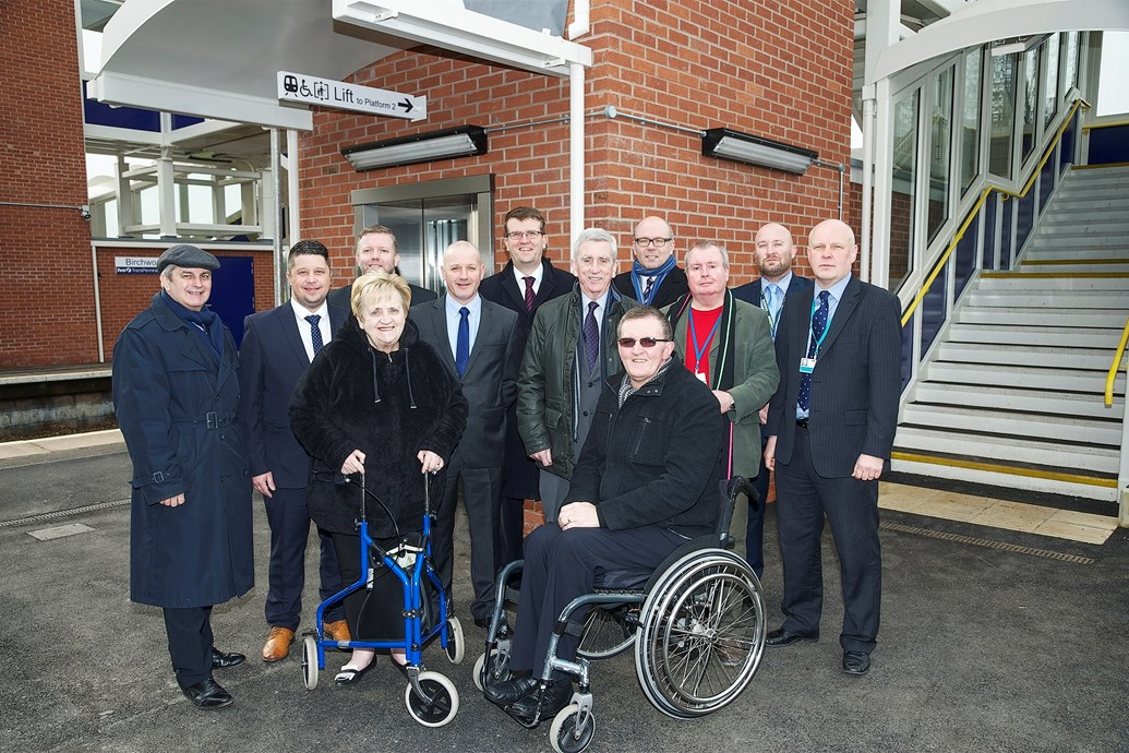 Birchwood station now accessible to all: Birchwood station Access for All improvements have been opened to passengers