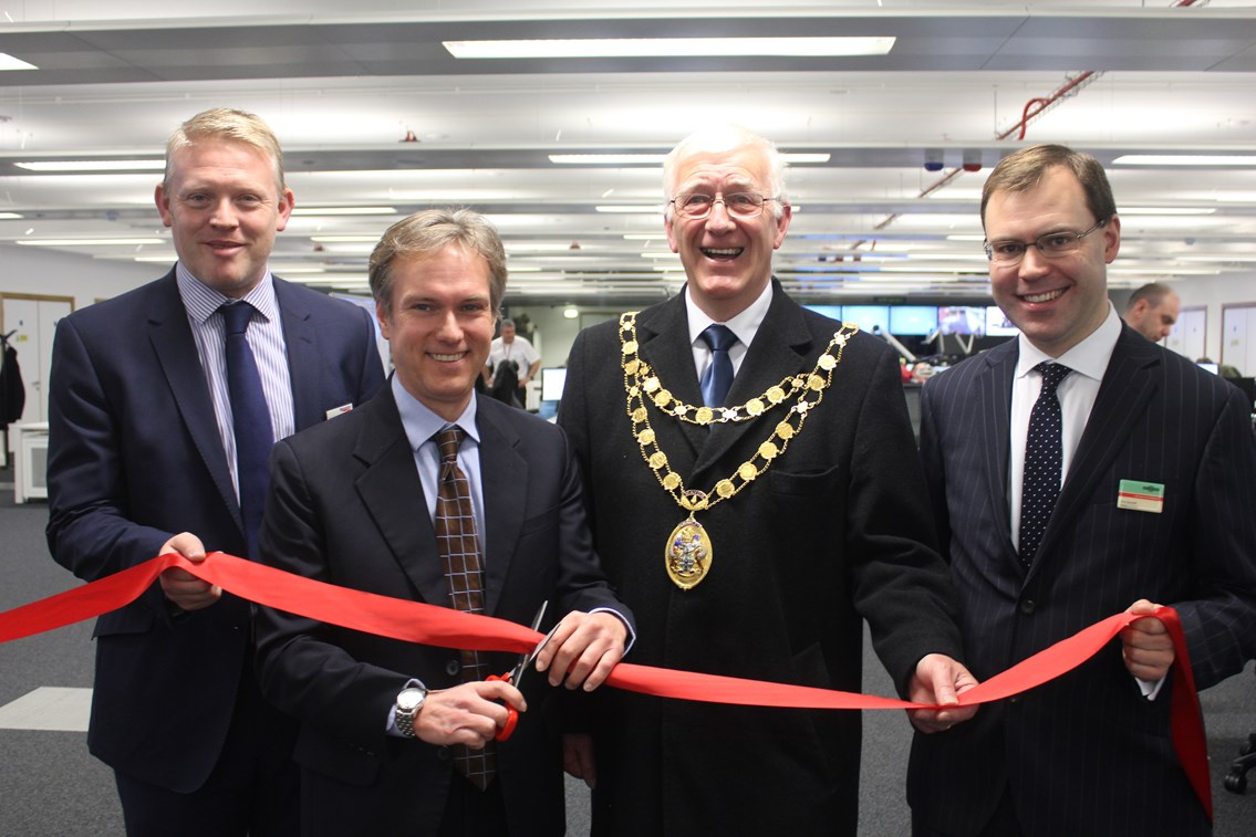 Rail operating centre officially opened in Three Bridges: Three Bridges ROC official opening