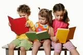 Funding for more free nursery care: Education-nursery-girls-reading