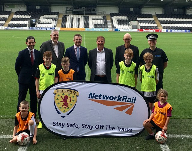 Network Rail extends partnership with Scottish FA: NR extends safety partnership with SFA