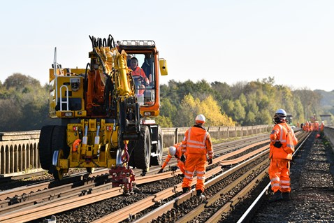 Brighton Mainline Upgrade Ouse Valley Oct 10  (28)