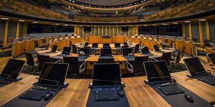 Siambr, Welsh Assembly: The Siambr, Welsh Assembly, Senedd, Cardiff
