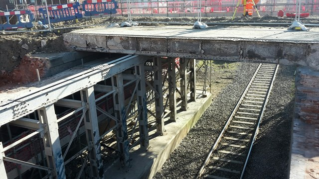 Passengers reminded to check before they travel ahead of Lytham St Annes bridge work: Bridge deck removal at Highbury road in Lytham St Annes