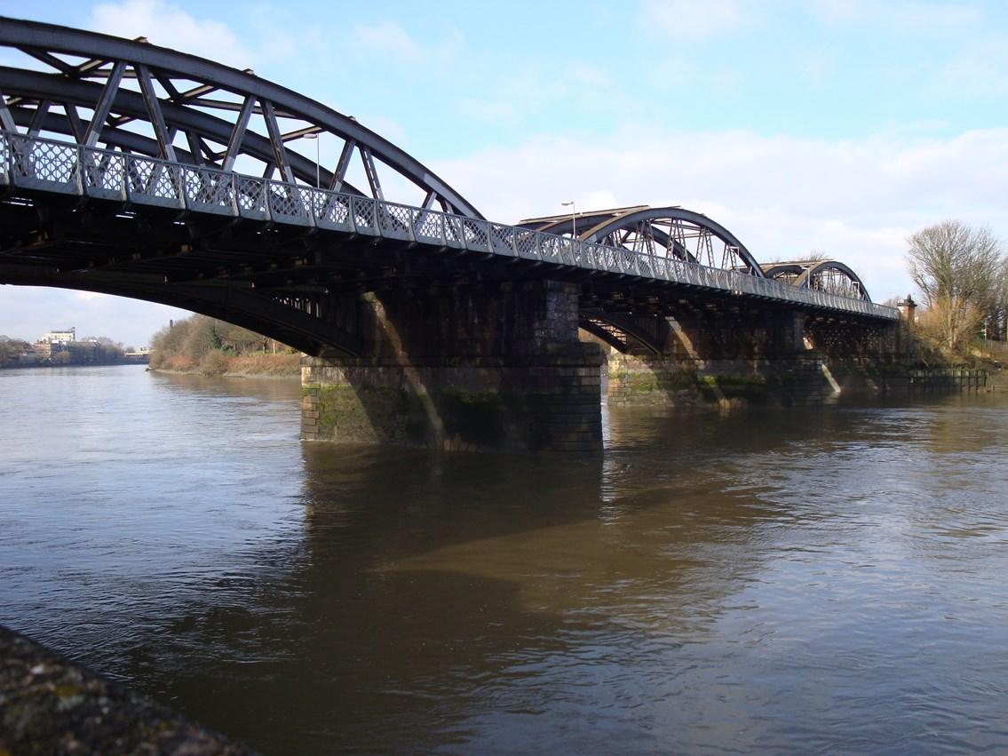 Barnes Bridge: Barnes Bridge, one of London's landmark bridges is to get a £3m makeover, courtesy of Network Rail.