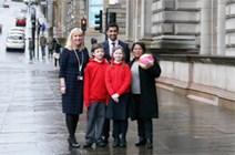 Minister calls for more fair trade school uniforms: Fair Trade School Uniform