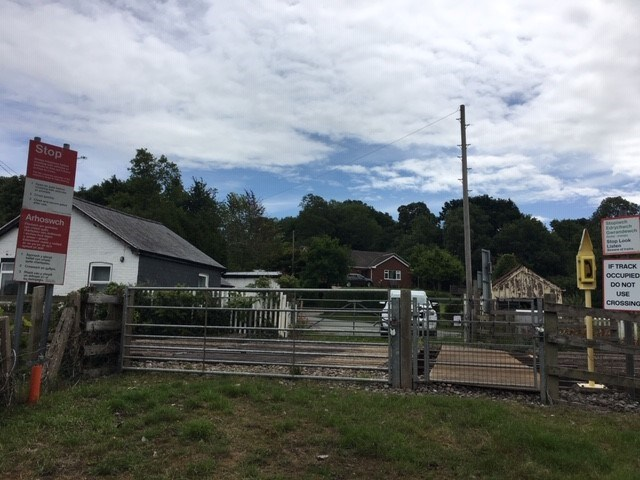 Forden: Popular footpath in South Wales reopened following level crossing upgrade: Fron Level Crossing