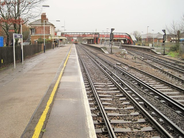 Trains delayed after vandals throw debris onto tracks near Southampton: St Denys station