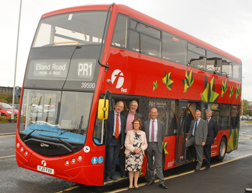 Leeds welcomes electric double-decker bus trial: metrodeckerevtrialinleeds.jpg