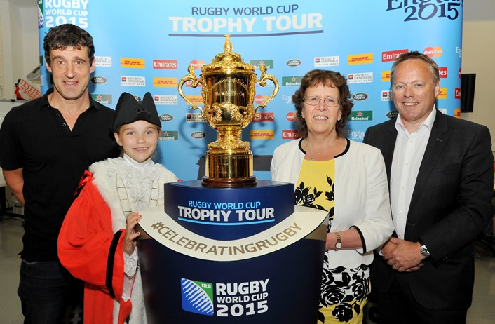 Young rugby fans book a date with the Webb Ellis Cup at Leeds Central Library: dsc_8280.jpg