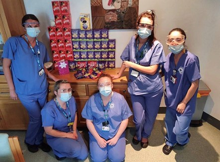 Northern colleagues donate Easter eggs to NHS heroes: NHS egg donation