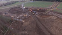 Aerial photographs of the site at Farnley Haugh (3)