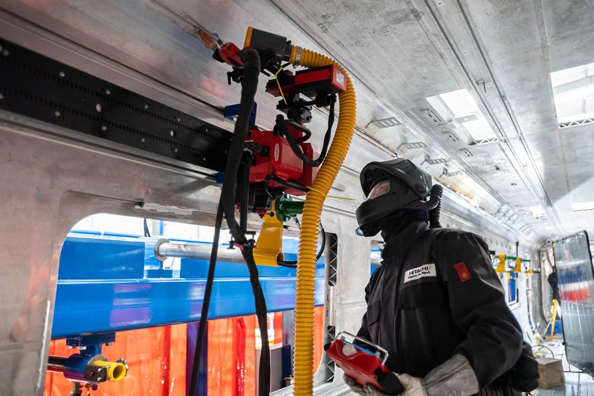 Robot weld