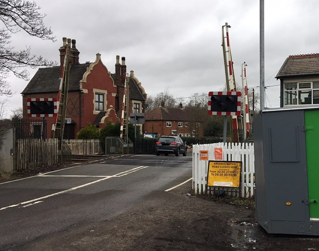 Network Rail begins work to improve three level crossings in Staffordshire (002)