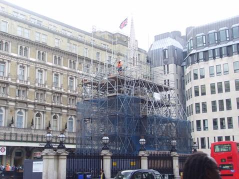 Eleanor Cross - Scaffolding Removal_3
