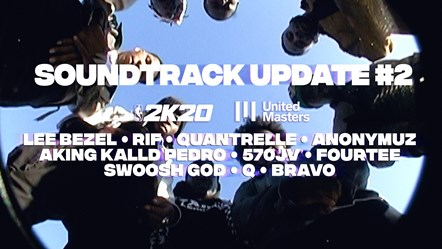 2K and UnitedMasters Reveal 10 Artists Joining NLE Choppa and Tobe Nwigwe on the NBA 2K20 In-Game Soundtrack: NBA2K20 Soundtrack Update 2