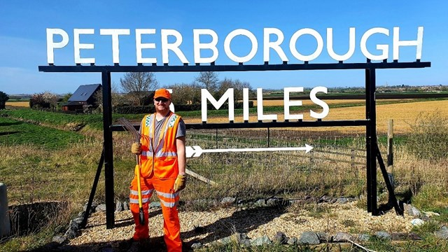 Network Rail key workers in Peterborough keep vital services running during Coronavirus crisis: Liam West - Operative in Peterborough