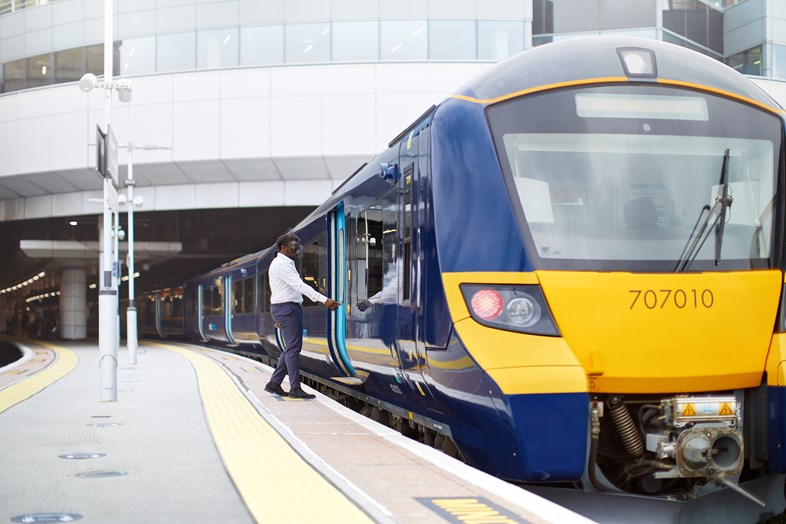 Brighter, fresher, smarternewCity Beamtrains enter service in South East London and North Kent: Class 707 Cannon Street