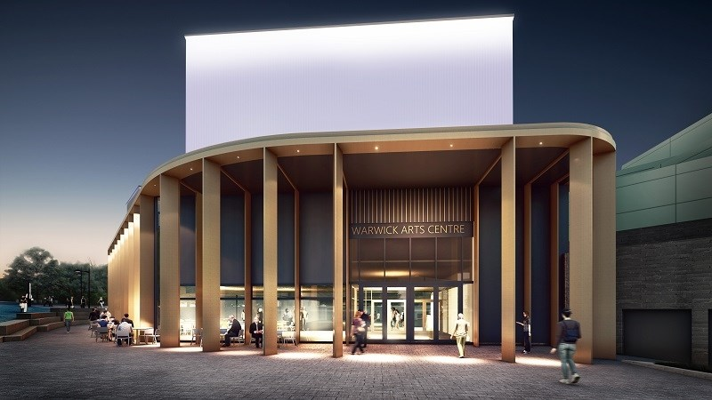 HS2 Fund supports Warwick Arts Centre 20:20 project: Warwick Arts Centre