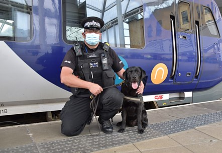PC Phil Healy and Harry 3