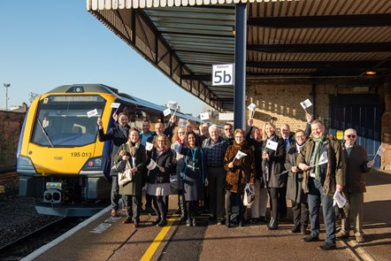 New Northern trains for Lincoln and East Midlands: New trains Lincoln group picture