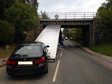New campaign urges drivers in the East Midlands to be vigilant following bridge bashes-3