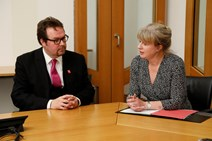 Sepsis awareness: Health Secretary meets with founder of sepsis charity FEAT