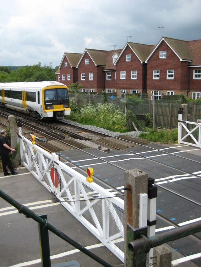 Wateringbury Level Crossing 1