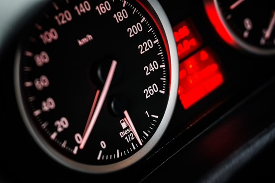 Police urge motorists to 'Slow Down, Save Lives': speedometer-gauge-reading-at-zero-104836