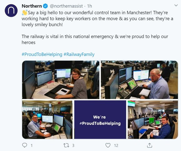 Manchester control #proudtobehelping