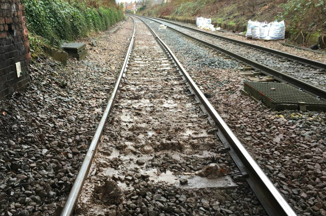 Track which will be replaced near 'Bleeding wolf' in Cheshire