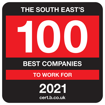 South East's 100 Best Companies to Work for 2021