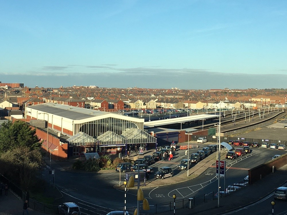Next stage of work to upgrade the railway in Lancashire starts in the New Year: Blackpool North station