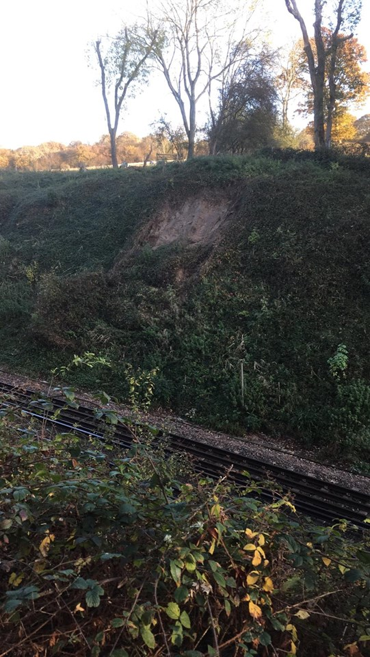 Passengers on the Hastings line urged to check before they travel due to emergency engineering work this weekend: PHOTO-2019-11-12-10-51-33