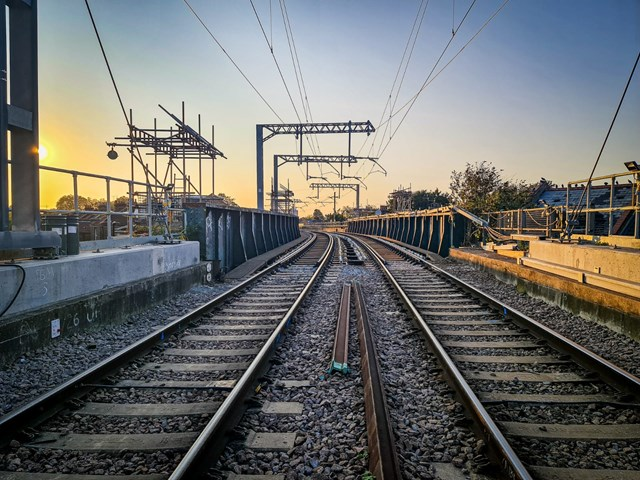 Reliability improvements on the London Overground Gospel Oak to Barking line as vital upgrades complete: Gospel Oak to Barking structures work 6
