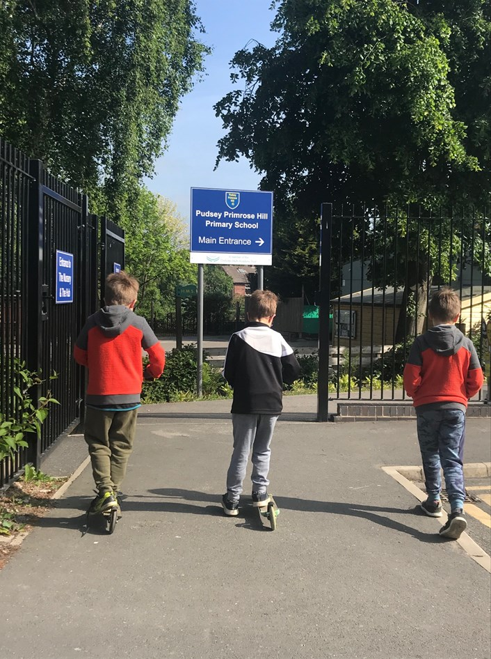 Council to introduce first 'School Streets' in Leeds: Primrose Hill Primary School